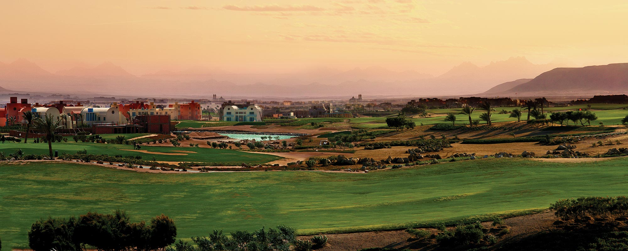 Golf El Gouna Egypt Orascom hotels